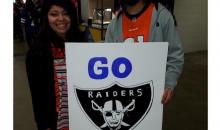 Broncos Fans Take Shot at Raiders QB Derek Carr With 'Break a Leg' Sign (PIC)