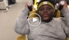 Pittsburgh Steelers Train Vine Star 'Lil Terio' As A Football Player (Video)