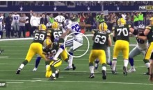 Cowboys CB Orlando Scandrick Sacks Aaron Rodgers With His Groin (Video)