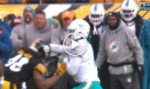 Dolphins QB Matt Moore Gets Absolutely Drilled (Video)