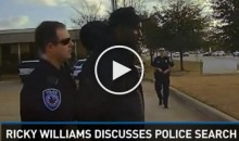 Ricky Williams Searched & Questioned By Police Because Someone Said He Was Walking Suspiciously (Video)