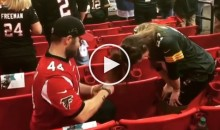 Falcons Fan Proposed to a Packers Fan Before NFC Championship Game (Video)