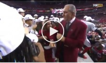 Falcons Owner Arthur Blank Dances to 'Welcome To Atlanta' After Team Advances to Super Bowl (Video)