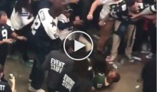 Cowboys Fans Beat Up Packers Fan After Losing Game (Video)