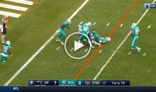 Pats WR Michael Floyd Battles Through 6 Dolphins Players For a Touchdown (Video)