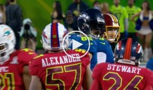 Jimmy Graham Goes OFF on Lorenzo Alexander For Tackling Him Too Hard During Pro Bowl (Video)