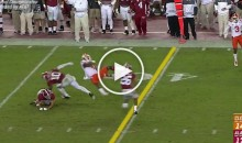 Clemson Tigers QB Deshaun Watson Gets Tackled & Turned Into a Helicopter (Video)
