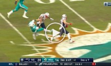 Pats WR Michael Floyd Destroys Dolphins CB During Edelman TD Run (Video)