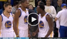 Draymond Green GOES OFF on Durant After Team Blows 24-Point Lead (Video)