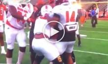 Grambling State WR & Miami DB Brawl at Senior Bowl (Video)