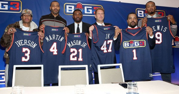 3302a05bb58 Allen Iverson & Ice Cube Formally Announce 3-on-3 League Big3 (Video ...
