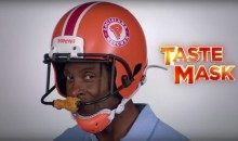 Social Media Reacts to Jerry Rice's Popeye's Spinning Chicken Helmet (Video)