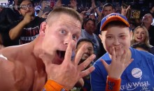 Awesome Dude John Cena Grants Wish For Make-A-Wish Foundation After Winning Royal Rumble (Video)