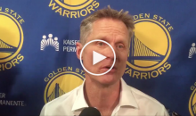 Kerr Addresses Donald Trump's Travel Ban: 'We Could Be Breeding Anger & Terror. It's a Horrible Idea' (Video)