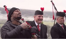 Marshawn Lynch Travels to Scotland to Talk Skittles and the Super Bowl (Video)
