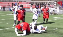 This Full-Contact Football League Has No Pads or Helmets, And It's INSANE (Video)