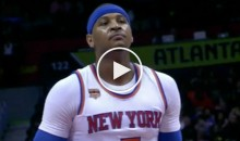 Hawks Crowd Chants 'Let's Go Clippers' While Carmelo Anthony Shoots Free Throws (Video)