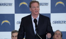 Roger Goodell To Chargers Fans in San Diego: 'We Feel Your Pain. We're Hurting, Too.' (Video)