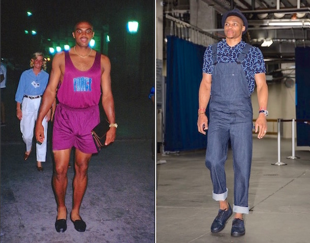russell westbrook rips charles barkley fashion sense