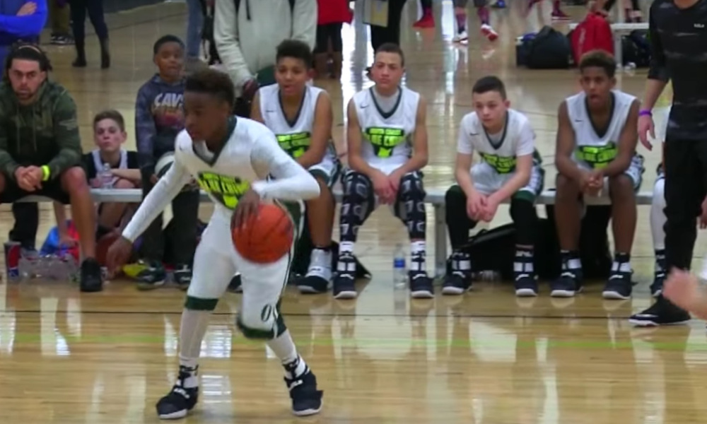 Year Old Lebron James Jr Shows Off Talents In Latest Highlight Video Total Pro Sports