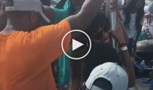 Dolphins Fans Bring Out The Tailgate Stripper Pole Before The Game (Video)