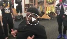 Vine Star 'Lil Terio' Puts On a Show For Steelers Players (Video)