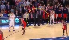WTF: Wizards Assistant Coach Steps Onto Court to Help His Team Play D on Final Play vs. Knicks (Video)