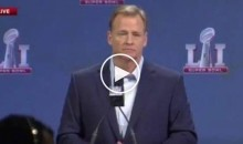 "Roger Goodell Asked If There Should Be a ""Two-Pump Limit"" on TD Celebrations (Video)"
