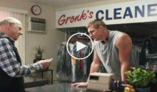 Gronk Runs a Very Bizarre Dry Cleaning Business in this Tide Super Bowl Spot (Video)