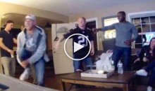 Patriots Fan Breaks Leg Celebrating Super Bowl Comeback (Video)