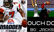 Mike Vick on Why His Madden Player Was Better Than Bo Jackson's Tecmo Bowl Player (Video)