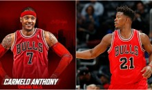 Jimmy Butler is Attempting To Recruit Carmelo To Come To Chicago Before Cavs or Clippers Get Him