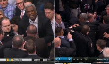 Charles Oakley Ejected From Knicks Game After Altercation in The Stands (Video)
