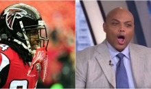 Roddy White Claims Charles Barkley Lost $100K Betting on Falcons In Super Bowl