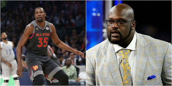 2888b8c2a999 Shaq Tells Kevin Durant to Mind His Business  Proceeds To Threaten ...