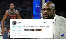 Shaq Tells Kevin Durant to Mind His Business; Proceeds To Threaten Javale McGee Again