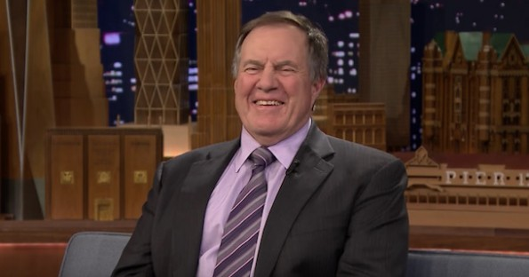 Bill Belichick Laughing