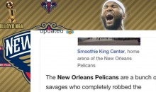 New Orleans Pelicans Wikipedia Got HILARIOUSLY Updated After Trading For DeMarcus Cousins For Absolutely Nothing (PIC)