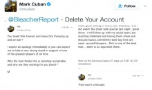 Mark Cuban Forces BR to Delete Tweet Because It Made Fun of Dirk Air-Balling a Shot