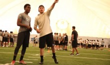 Johnny Manziel Popped Up at a QB Camp This Weekend (Pics)