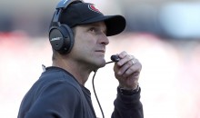 Jim Harbaugh Says He Deserves Medal For Spending Four Years Under 49ers Trash Management