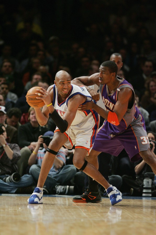 New York Knicks v Phoenix Suns