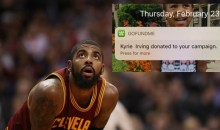 Kyrie Irving Donates $6,500 To 8-Year-Old B-Ball Prodigy To Help Fund His Travels For AAU