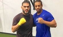Greg Hardy MMA Update: EX-NFL Player Trains with Antonio Silva in Hopes of One Day Beating People Up Professionally (Video)