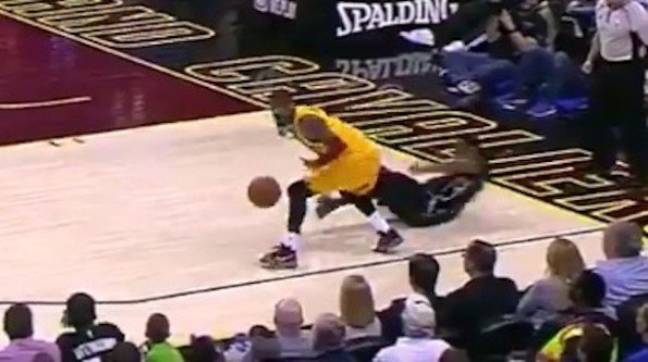 Total Pro Sports Kyrie Irving Crosses John Henson Off The ...