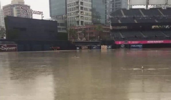 Petco Park Flood