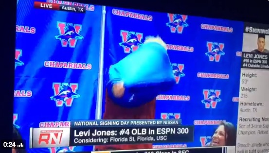Levi Jones picks USC over FSU, UF