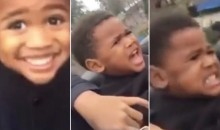 Adorable Sports Baby Alert! Torrey Smith's Son Regrets Decision to Ride Roller Coaster (Video)