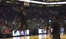 Suns' Derrick Jones Jr. Is Showing Off His Dunk Contest Moves a Few Days Early (Video)