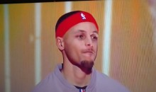 The Internet Dogpiled on Steph Curry Again, This Time for His All-Star Game Headband (Tweets)